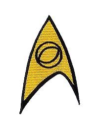 Star Trek Science Iron On Patch