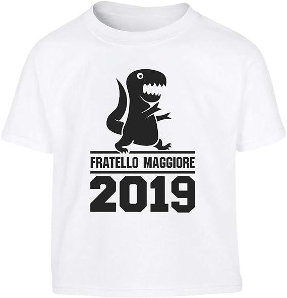 Idea Regalo Maglietta per Bambini Shirtgeil Fratello Maggiore dal 2019