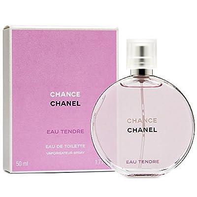 C h a n e l Chance Tendre Eau de Toilette Spray For Women 1.7 OZ./ 50 ml.