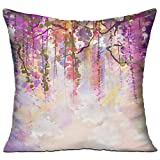 HAIXIA Soft Cushion Case for Sofa Decor 18'' X 18''inch Double Side Print The Watercolor of The Sex Looks Very Very Interesting
