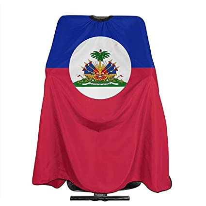 Delantal De Peluquero Bandera De Haití Hair Salon Cape Barber Cape ...
