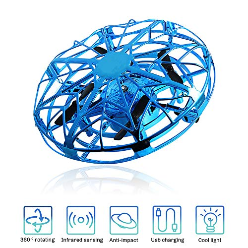 UFO Flying Ball for Kids, Toy for 3-12 Year Old Boys Remote Control Drone Helicopter Toys Gift for 6-10 Year Old Girls Children Birthday Gift Age 7 8 9 Boys