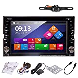 TOCADO GPS Navigation Car Autoradio 2din TouchScreen Car DVD Player AM/FM Radio Bluetooth Map iPod In-dash Car Audio Car Stero + Backup Camera