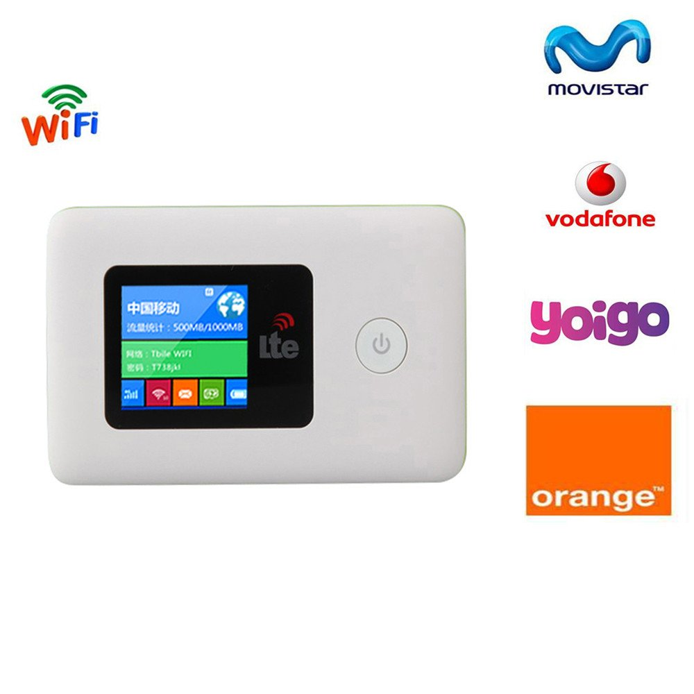 Tianjie 100Mbps 4G WIFI Router Mobile Hotspot Car Mifem ...