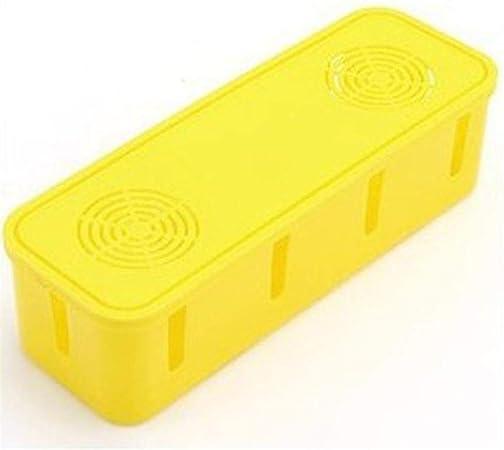 beautygoods Caja de Cables, Organizador para Guardar regletas, 27 x 8 x 9 cm, Caja de Cables para máxima Seguridad en el hogar, Oculta Cables: Amazon.es: Hogar