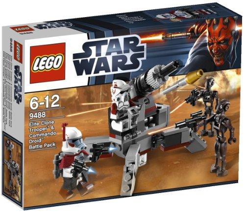 Stars Wars - Elite Clone Trooper & Commando Droid - 9488 (Star Wars Clone Wars Arc Trooper Battle Pack)