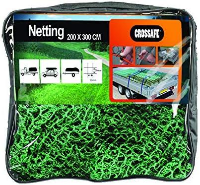 Trailer Net 200 x 300 cm Green Cover Net Jumbo Crossafe Cargo Net