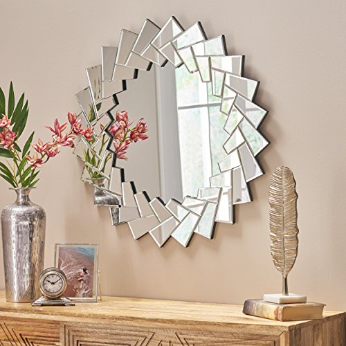 Michelle Glam Sunburst Wall Mirror