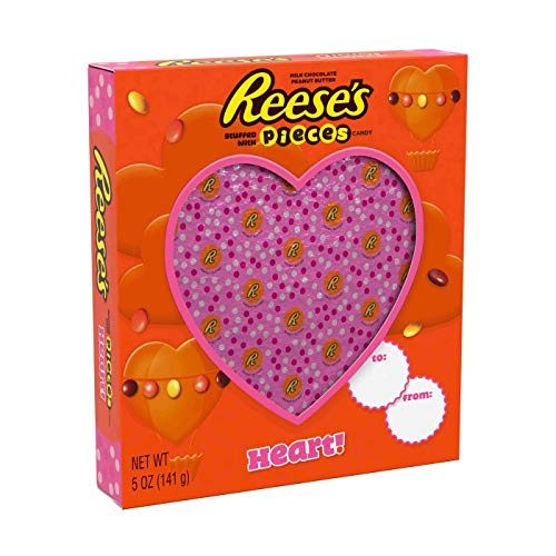Reese's Stuffed with Pieces Valentine's Day Heart - 5oz