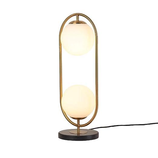 Xiao Fan ▷ Simple Moderna lámpara de Mesa de Cristal Personalidad ...