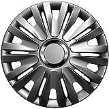 16 Zoll Radkappen Delta Graphit (Grau) passend für Fast alle Fahrzeugtypen
