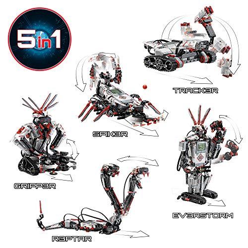 LEGO 31313 Mindstorms EV3 Robotics Kit, 5 in 1 App