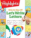 img - for Write-On Wipe-Off Let's Write Letters (Highlights  Write-On Wipe-Off Fun to Learn Activity Books) book / textbook / text book