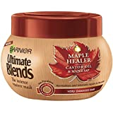 Garnier Ultimate Blends Maple and Castor Oil Hair Mask 300 ml