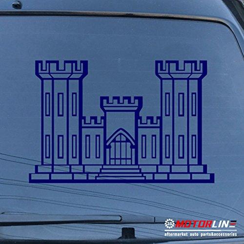 即日発送 3s MOTORLINE 32'' ブルー USACE工兵隊デカールステッカー車ビニールブランチInsignia US Army B 32'' (81.3cm) Army ブラック 20180423s6 32'' (81.3cm) ブルー B07CKV9GGT, 名入れ彫刻アーティックギフト:9b85f120 --- a0267596.xsph.ru