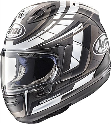 (Arai Corsair X Helmet - Planet (Large) (Black Frost))