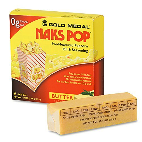 Gold Medal 2042Ct 2 Cartons of Naks Pop Oil Bars