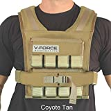 "40 lb. V-FORCE (Coyote Tan, 3-1/4"" narrow shoulders)"