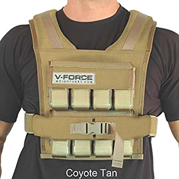 40 lb. V-Force Weight Vest – Made in Idaho