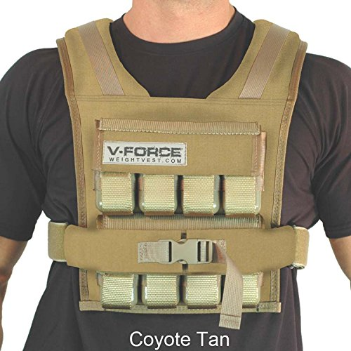 V-Force 40 lb Coyote Tan, 3-1 4 Narrow Shoulders