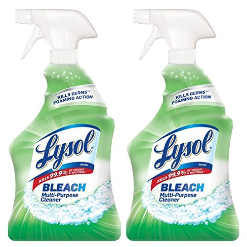 Lysol All Purpose Cleaner with Bleach, 32 Ounce (Pack of 2)
