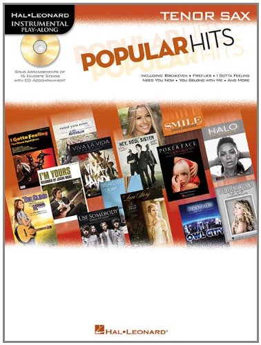 Popular Hits For Tenor Sax - Instrumental Play-Along Cd/Bk (Hal Leonard Instrumental Play-Along)