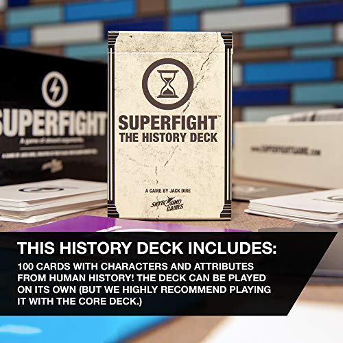 Superfight Card Game from Skybound: The History Deck