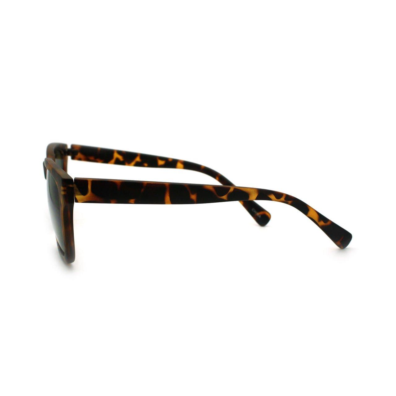 Hip Retro Modern Unisex Sunglasses Square Rectangular Frame