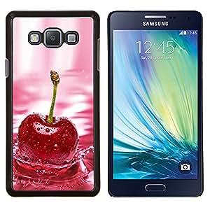 TECHCASE---Cubierta de la caja de protección para la piel dura ** Samsung Galaxy A7 ( A7000 ) ** --CHERRY SPLASH