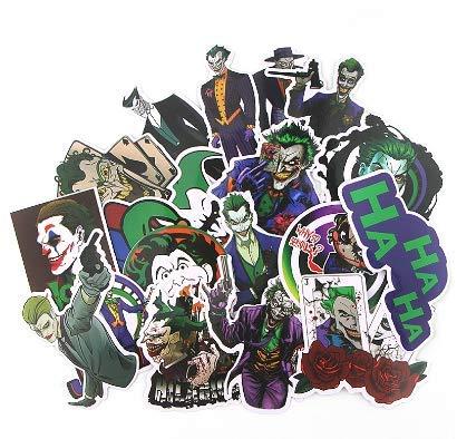 WENCHI Pegatinas de Joker Pegatinas de película para Maleta ...