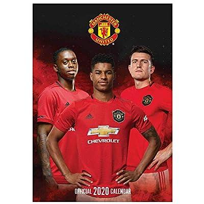 Manchester United Official 2020 Soccer Calendar (A3)
