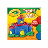 Crayola Modeling Clay, 4 colours, School and Craft Supplies, Gift for Boys and Girls, Kids, Ages 3,4, 5, 6 and Up, Holiday Toys, Stocking Stuffers, Arts and Crafts