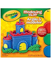 Crayola Modeling Clay 4 colours Arts & Crafts