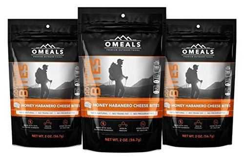 OMEALS Adventure Bites, Honey Habanero 3 OMCH3-3C by OMEALS