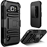 Galaxy S6 Active case, E LV Samsung Galaxy S6 Active (Shock Proof Defender) Slim Case Cover Full Protection from Drops and impacts for Samsung Galaxy S6 Active - Black