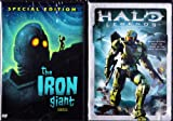 The Iron Giant : Special Edition , Halo Legends : Seven Stories - Kids Movie 2 Pack