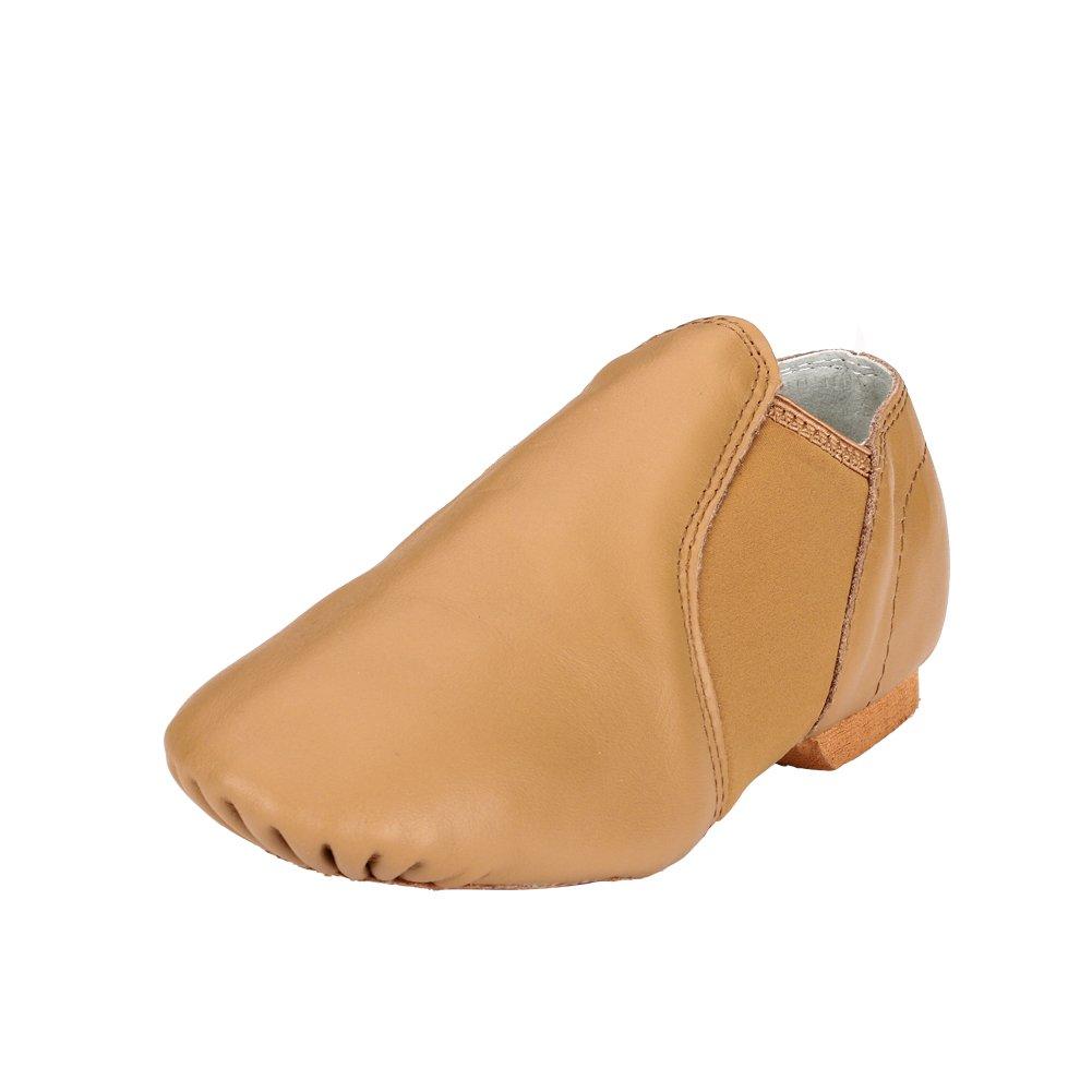 Msmushroom Leather Jazz Dance Shoe (Toddler/Little Kid) DA14-CH