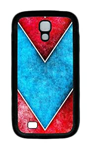 Samsung S4 Case,VUTTOO Cover With Photo: Art Deco Pattern For Samsung Galaxy S4 I9500 - TPU Black