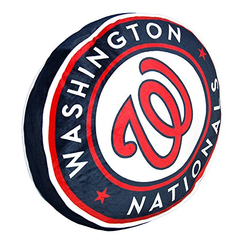 Northwest Washington Nationals MLB 15in Cloud Travel Pillow
