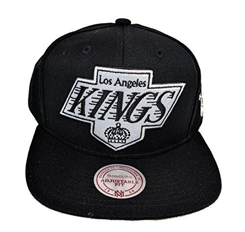 Los Angeles Kings XL Logo White Tonal Mitchell and Ness Snapback