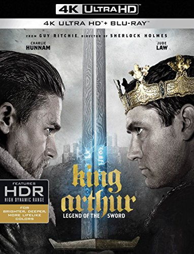 4K Blu-ray : King Arthur: Legend of the Sword (With Blu-Ray, 4K Mastering, Digitally Mastered in HD, 2 Disc)
