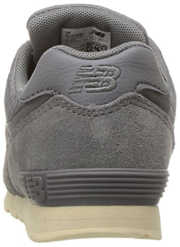 Gris grey Mixte Balance 574 New Baskets Bébé wa6aX4