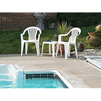 Amazon Com Adams 8235 48 3700 Low Back Stacking Chair
