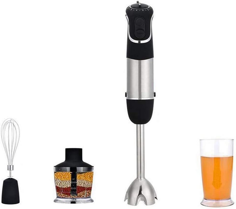ALY Hand Blender, with 500ml Food Grinder, 600ml Container, Chopping, Whip, Beat, Stir, Mixer, Smart Stick Food Processors, 850 W