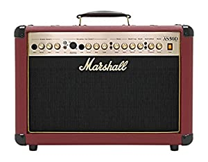 marshall as50d ox blood limited edition 50w 2x8 acoustic combo amplifier musical. Black Bedroom Furniture Sets. Home Design Ideas