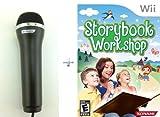 Wii Storybook Workshop + Konami Black Microphone [Wii]