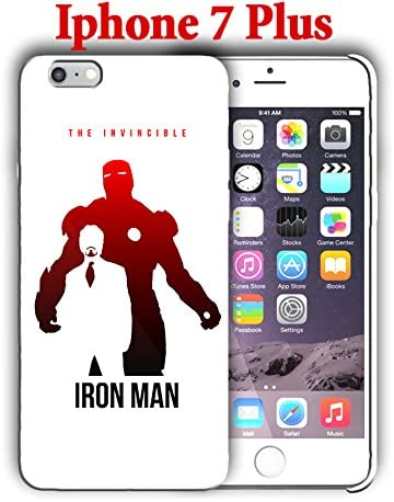 Amazon.com: Iron Man for Iphone 7 Plus 5.5in Hard Case Cover (iron1)