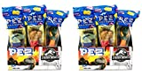 Pez Candy Jurassic World Fallen Kingdom Candy Dispensers - Individually Wrapped - Great for Party Favors and Pez Collector's (24 Pack)