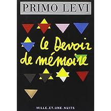 DEVOIR DE MÉMOIRE (LE)
