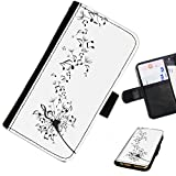 Hairyworm - Music LG G3 (D855, D850, D851) leather side flip wallet cell phone case, cover